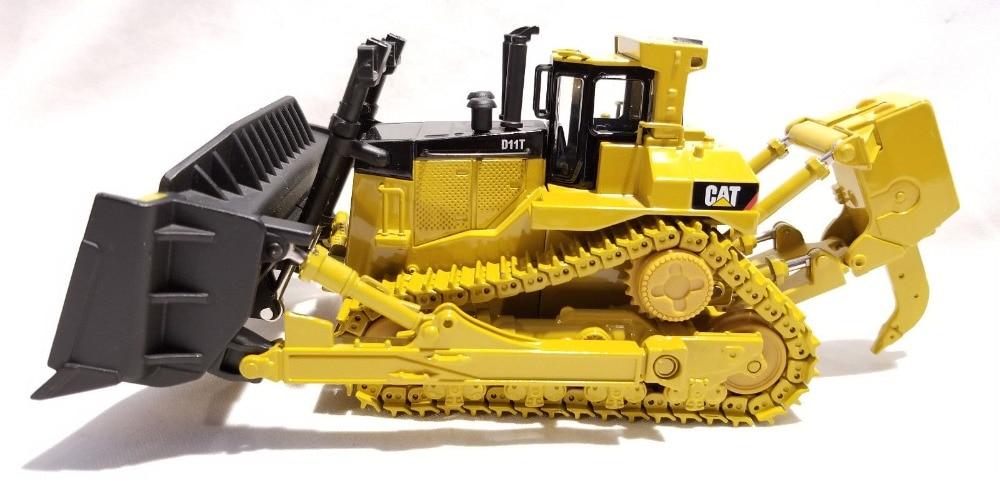 Jouet moulé sous pression modèle Norscot 1:50 Caterpillar Cat D11T Type de piste tracteur bulldozer machines d'ingénierie 55212 pour cadeau garçon, Collection