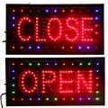 CHENXI Aperto e Chiuso 2 in 1 LED Segno Negozio Neon Business Negozio Aperto Chiuso Pubblicità Luce On/Off interruttore di 19*10 Pollici Cartellone.