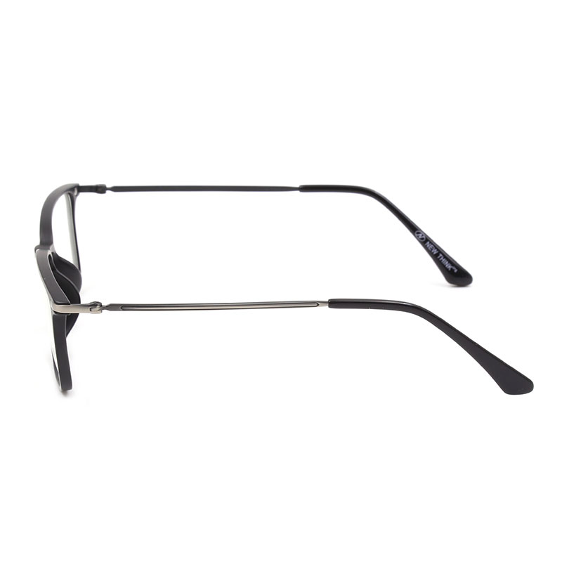 Image 5 - Reven Jate X2027 Full Rim Plastic Metal Eyeglasses frame for Men and Women Optical Eyewear Glasses Frame 5 Colors-in Men's Eyewear Frames from Apparel Accessories