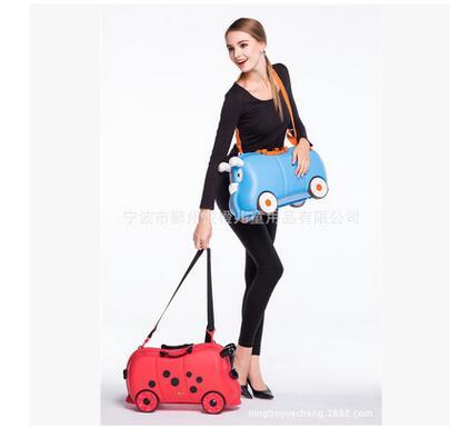 little Kid s Pulling Suitcase Kid s Trolley font b Luggage b font Case on Wheels