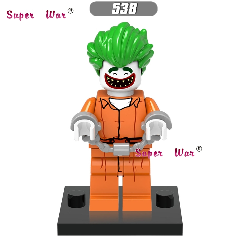 1PCS  Superhero Marvel Joker Dolls Building Blocks  Action  Sets Model Bricks Toys For Children