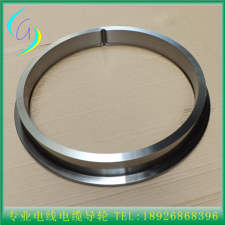 Large wire drawing machine copper wire drawing parts surface tungsten carbide coated 45# steel ring/steel rim