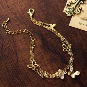 Image 3 - Neoglory Rhinestone Light Yellow Gold Color Wedding Butterfly Jewelry Sets for Women Bridal Birthday Gifts 2020 New JS6 G1