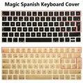 EU Euro ESP Español Magia de silicona Cubierta Del Teclado para el iMac Bluetooth Magia Ordenador PC Teclado Protector de La Piel