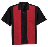 Mens Shirts Vintage Style Rockabilly 1950s 60s Men S Clothing Street Rocknroll Tops Hippie Man S