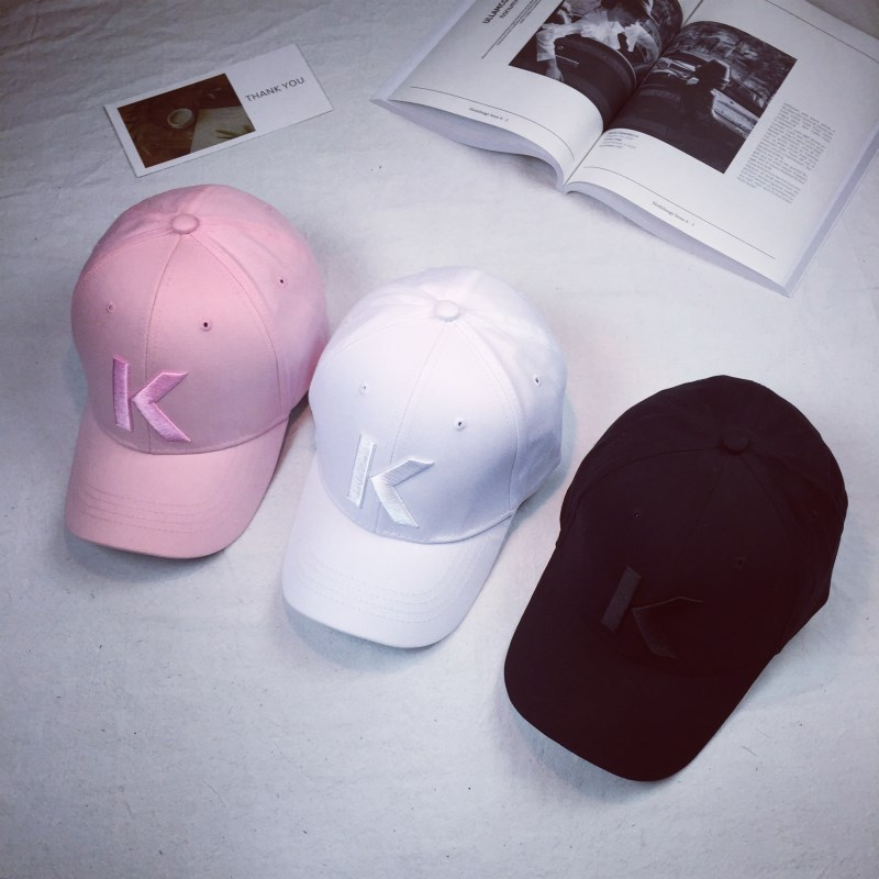 Letter K Snapback Dad Hats Leisure Sport Bone Drake Hip Hop Polo Baseball Cap For Men Boys Girl Women Gorras Caps Casquette  2017 brand women baseball cap rose dad hats drake for men snapback hip hop dad hats flower embroidery curved summer black caps