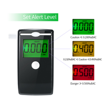 Breathalyzer Alcohol Tester Professional Alcoholometer For Alcohol Detection Device Use High Precision Semiconductor Sensor цена 2017