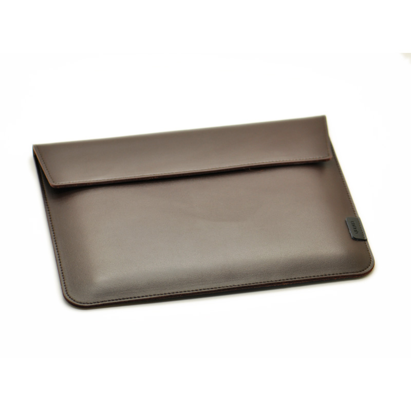 Transversal Style Of Briefcase Laptop Sleeve Pouch Cover,microfiber Leather Laptop Sleeve Case For Dell XPS 13/15