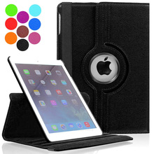 360 Degree Rotating PU Leather Case for Apple iPad Air 1 2 Smart Stander Cover New 9.7 2017 2018 A1822 A1823 A1893