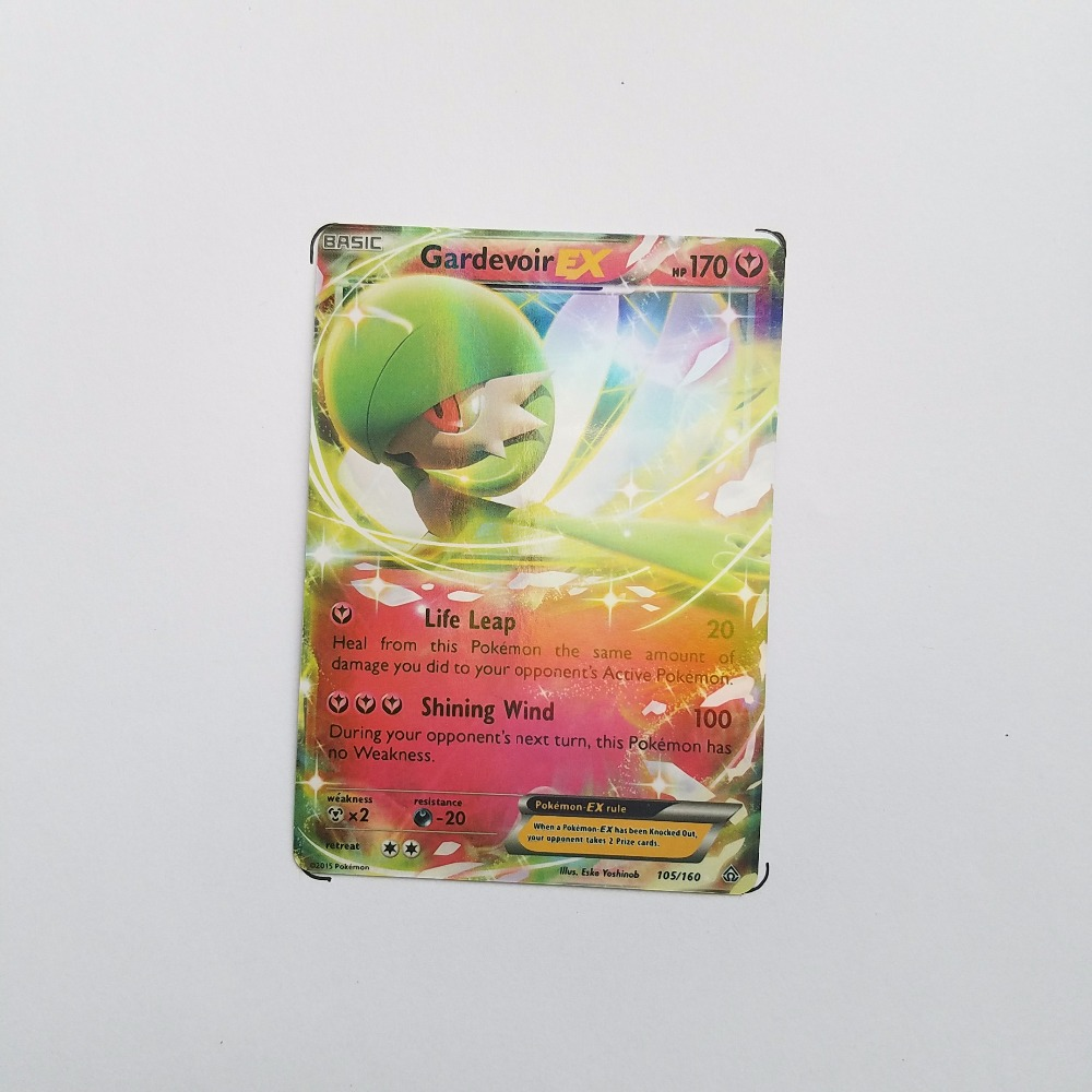 Pokemon Card Single Sale EX Shiny E-30002 GardevoirEX Card Play Anime Hot Toys Cards Game Trading Collection Children Gift
