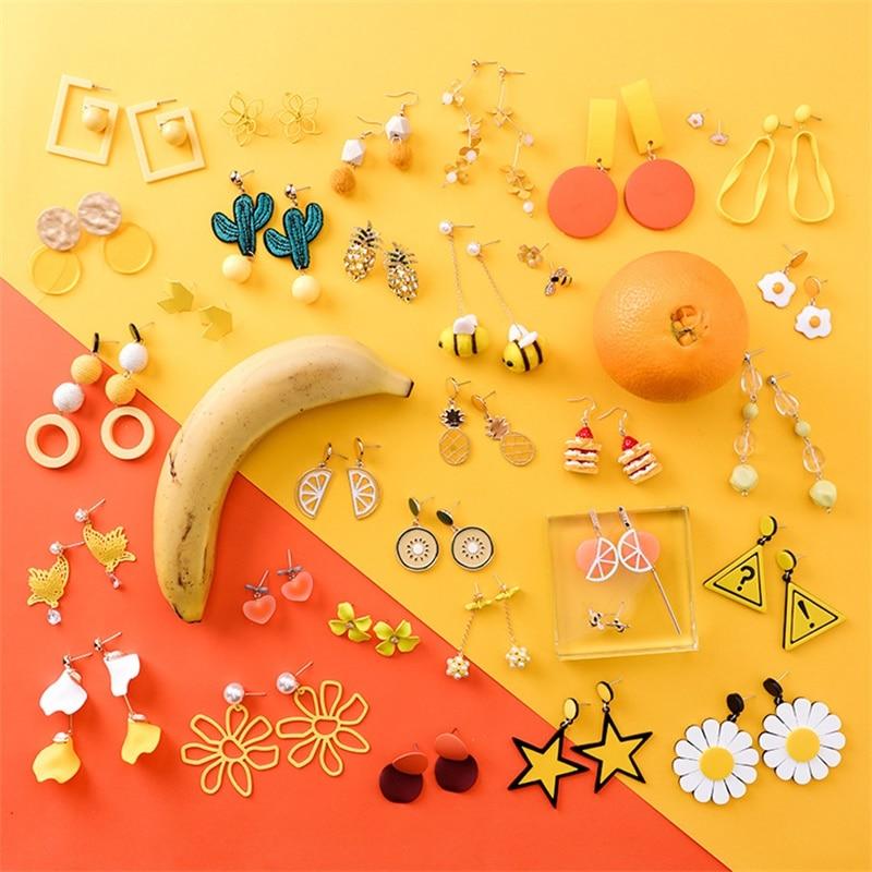 Bright Summer Food Kawaii Earrings