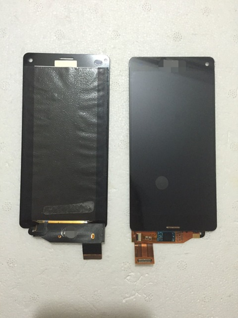 Para sony xperia z3 compact z3 mini d5803 d5833 pantalla lcd con pantalla táctil original + glue envío gratis