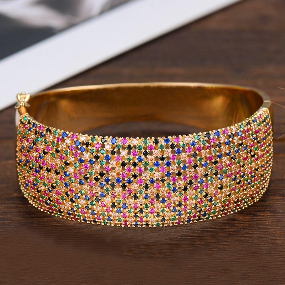 Godki ampla de luxo tênis pulseira anel