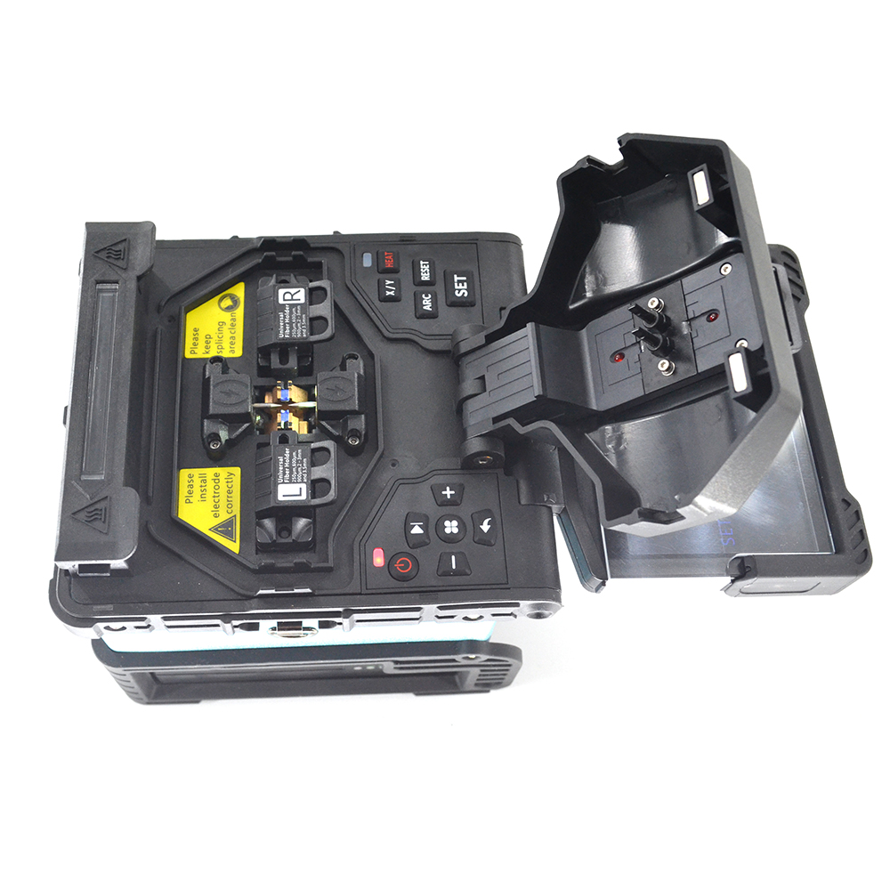 7s fast splicing FTTH optical Fiber Fusion Splicer 360X magnification fiber welding machine similar INNO view 3 in Fiber Optic Equipments from Cellphones Telecommunications