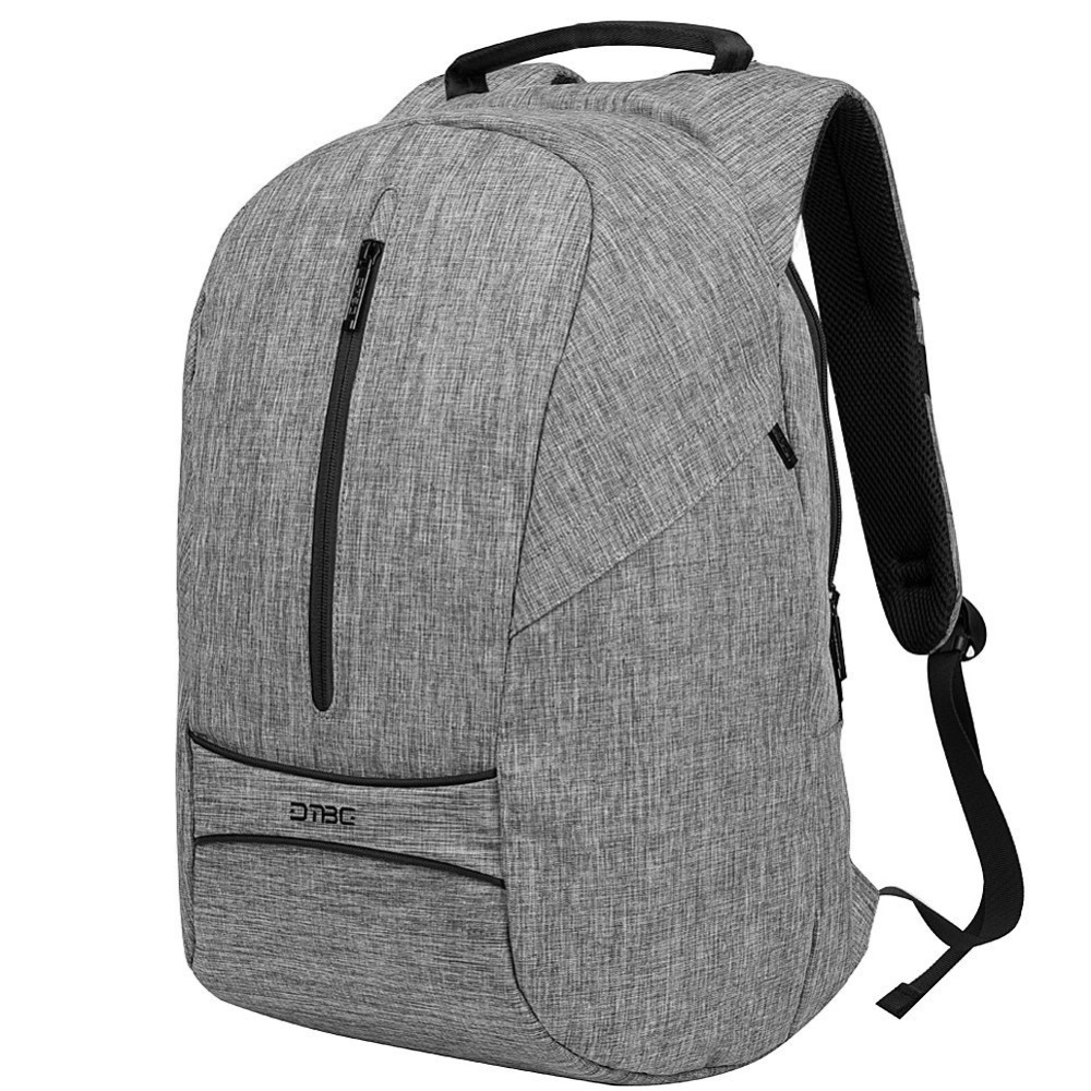 DTBG Canvas Backpack 15 17 Laptop Bagpack Anti-theft Rugzak Waterproof Plecak Men Women Rucksack Rugtas School Bag Boy Girl Sac dtbg canvas backpack for 17 3 inch laptop smart travel rucksack with usb charging port anti theft plecak bagpack mochilas sac page 5