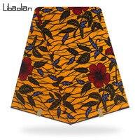 Ghanaian Kente Wax Fabric Guaranteed Hollandais Dutch Real Wax Design for Cloth hot Hollandais Wax Print Fabric in 6Yards F905 8