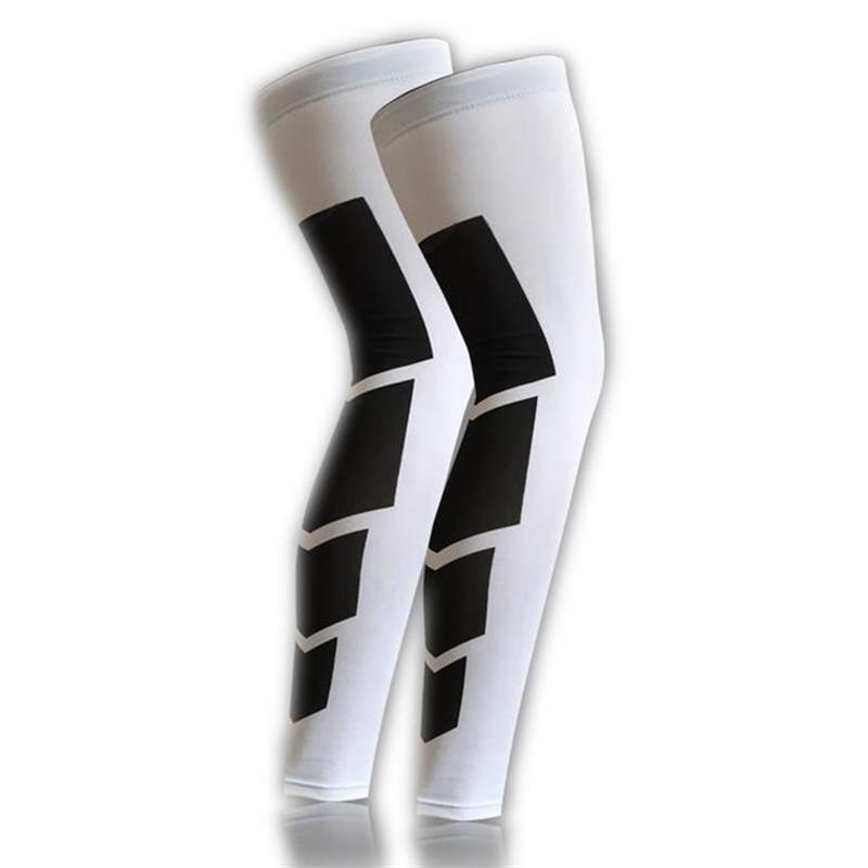 1PCS Super Elastic Lycra Баскетбол Leg Warmers Calf Thigh - Спорттық киім мен керек-жарақтар - фото 2