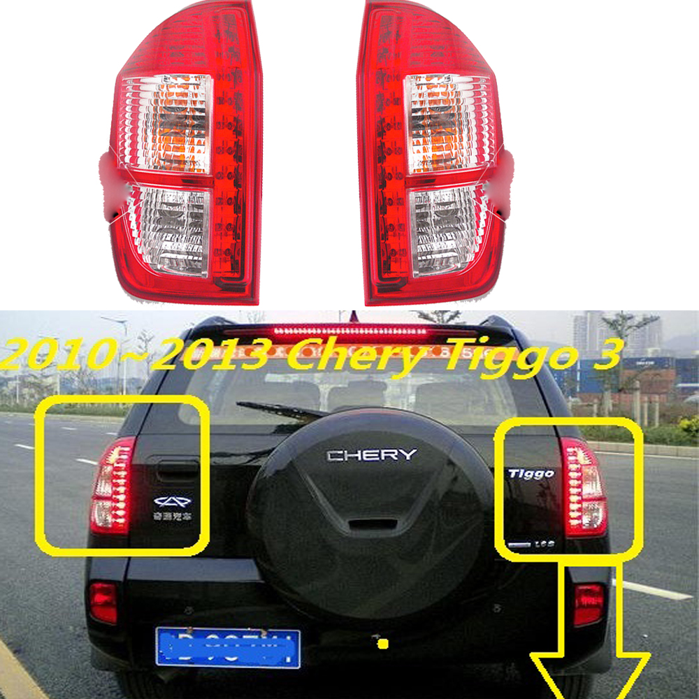2010~2013 Chery Tiggo taillight,LED,Free ship!Tiggo3 rear lamp