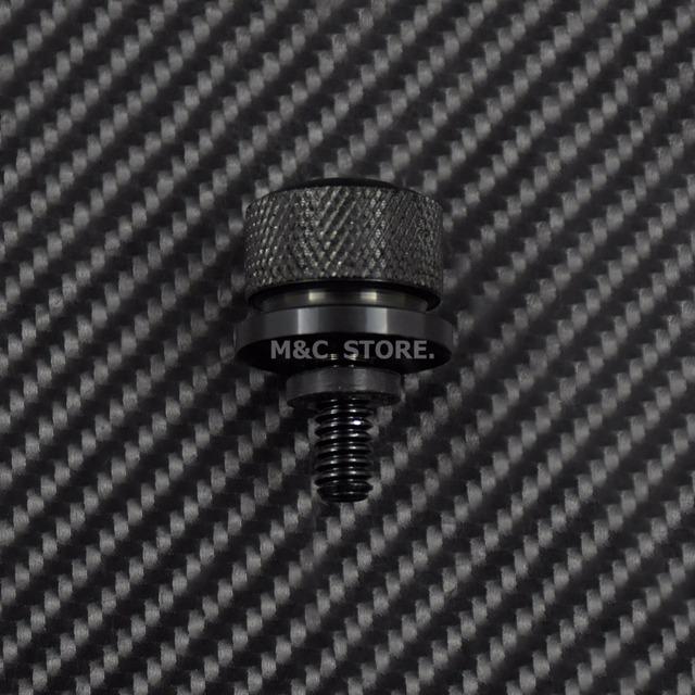 Black Chrome Rear Seat Bolt Stainless Steel Fender Bolt Screw For Harley Sportster Touring Dyna Softail Street Glide 96-15