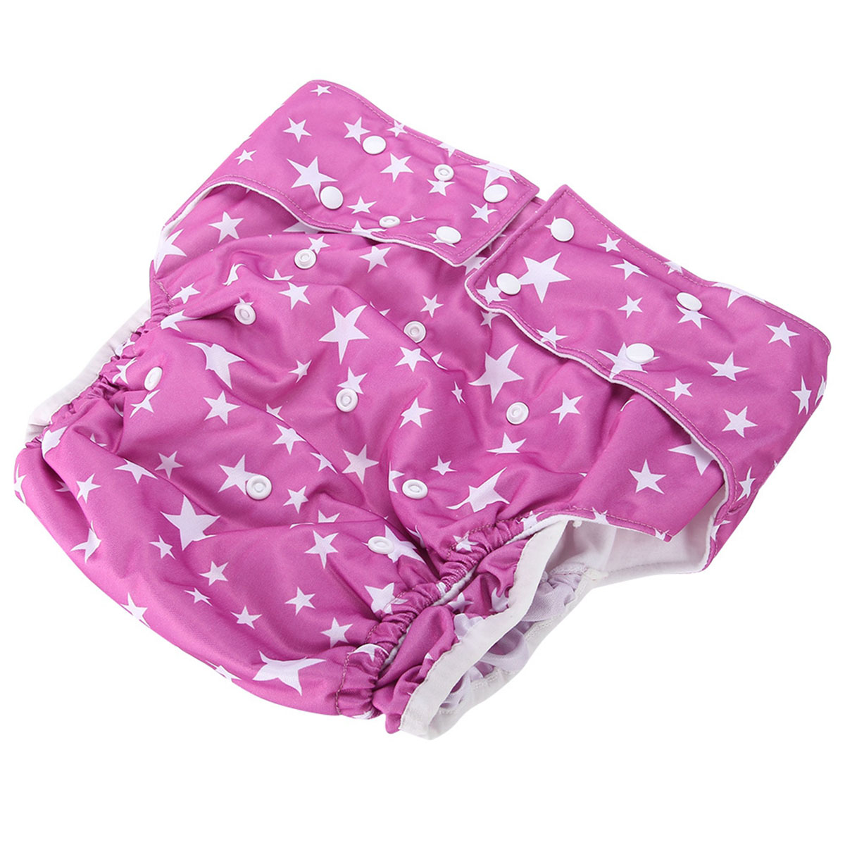 Adult Diaper Nappy Pants Washable Reusable Adjustable Diaper For Disability Incontinence The Elderly Washable Diapers