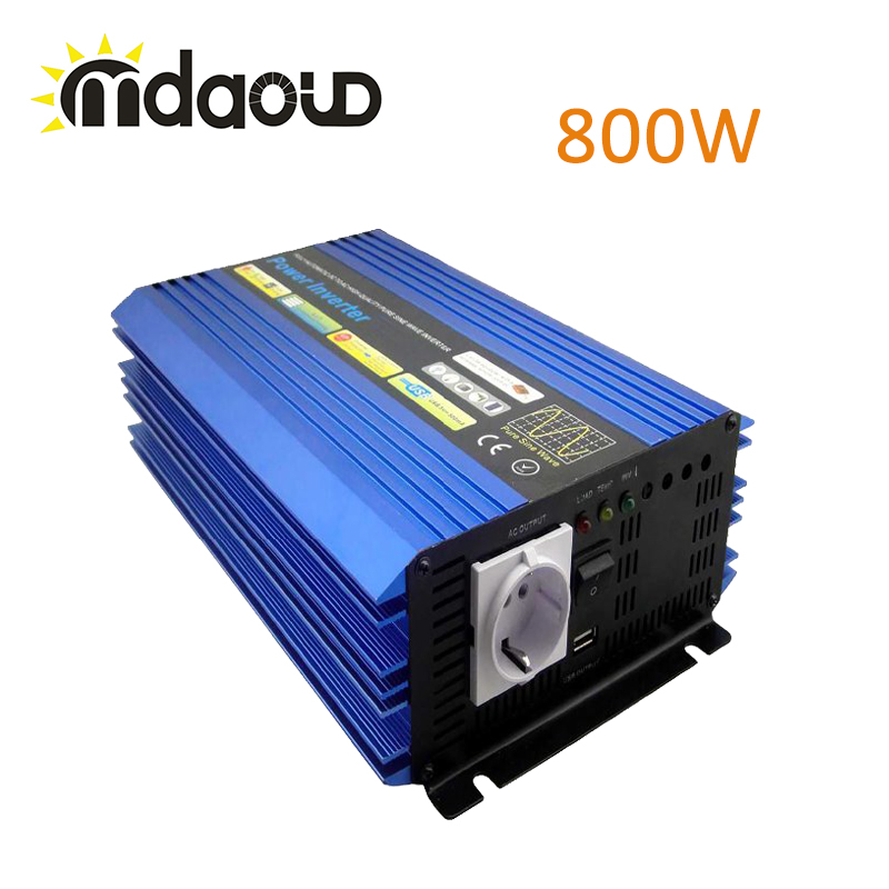 800W PURE SINE WAVE POWER INVERTER/CONVERTER PEAKING 1600W 1600w 92