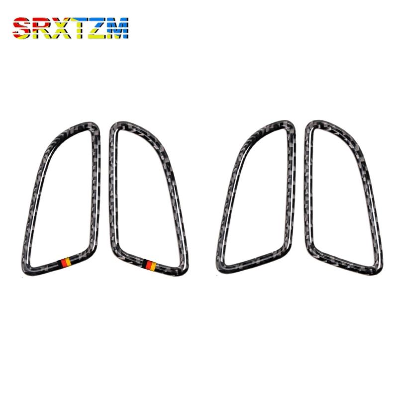 SRXTZM Carbon Fiber Dashboard Air Condition Vent Outlet