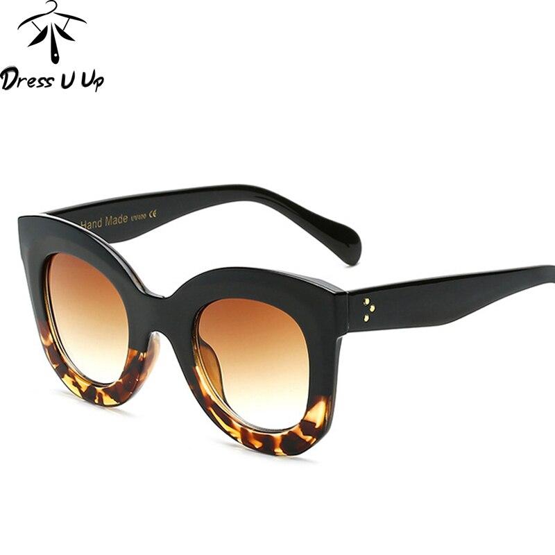 DRESSUUP 2017 Fashion Big Frame Sunglasses Women Brand ...