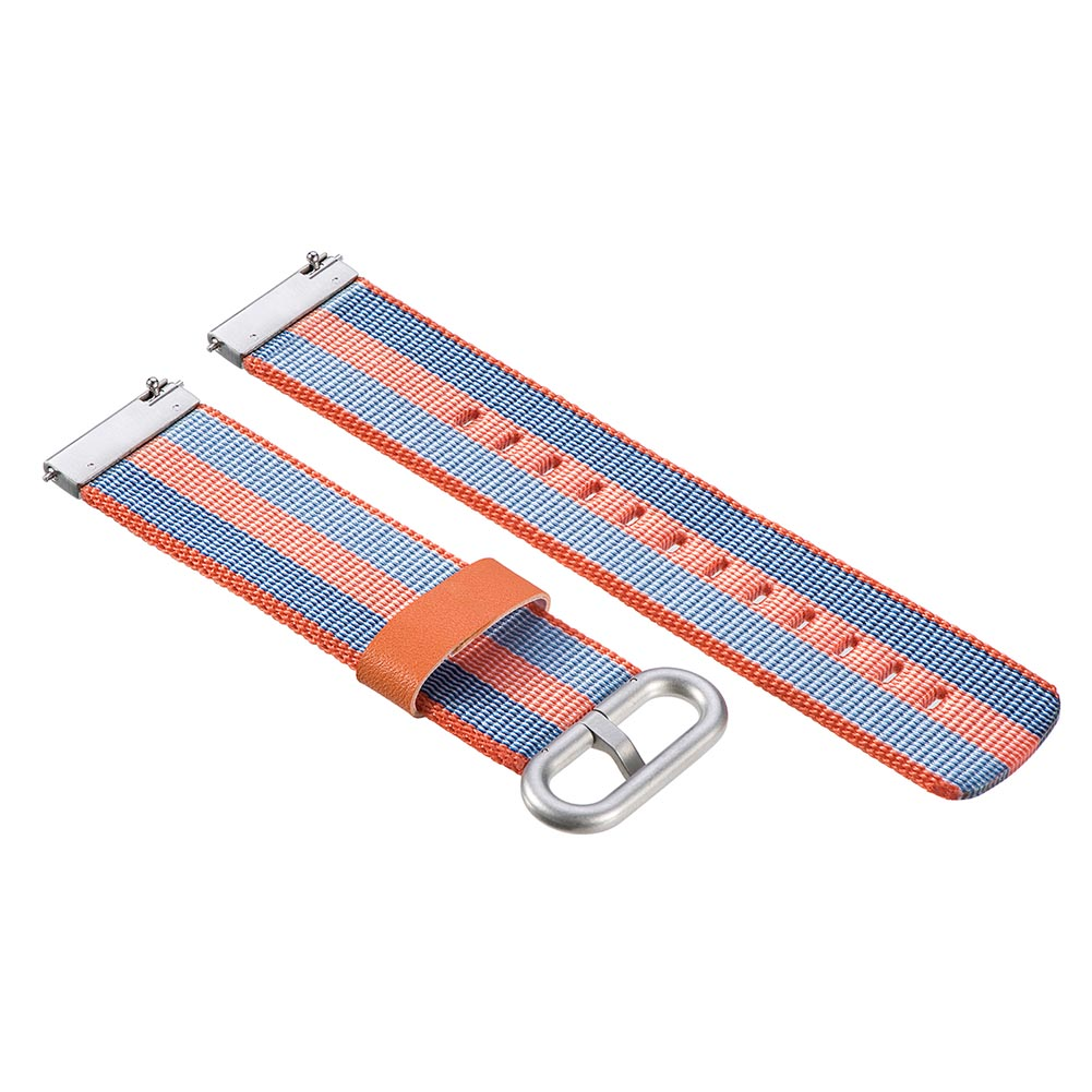 Watchband Smart Band Strap 22mm Nylon Replacement Durable Stainless Steel Buckle GY88