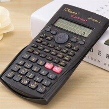 Портативный студенческий научный калькулятор 2 линии дисплей 82MS-A/B портативный многофункциональный калькулятор для обучения математике