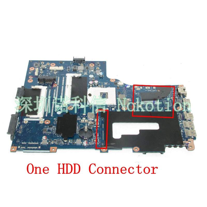 NOKOTION Laptop Motherboard For Acer aspire V3-771 E1-731 E1-771 V3-731 VA70 VG70 MAIN BOARD NBMG711001 NB.MG711.001 DDR3 works dkny ny2250