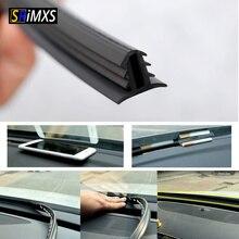 Уплотнитель панели автомобиля 160 см автомобильный Резиновый Уплотнитель универсальный резиновое уплотнение ветрового стекла Dashboard Звукоизолированные полосы авто