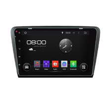 10 inch Android Quad Core 1024*600 Fit Skoda OCTAVIA 2013 2014 2015- Car DVD Navigation GPS Radio