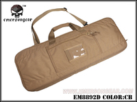 EMERSON Army Military Equipment Airsoft Paintball Shooting Weapon Bag Combat Tactical 35 Padded Weapon Case Black EM8892GUN Bag