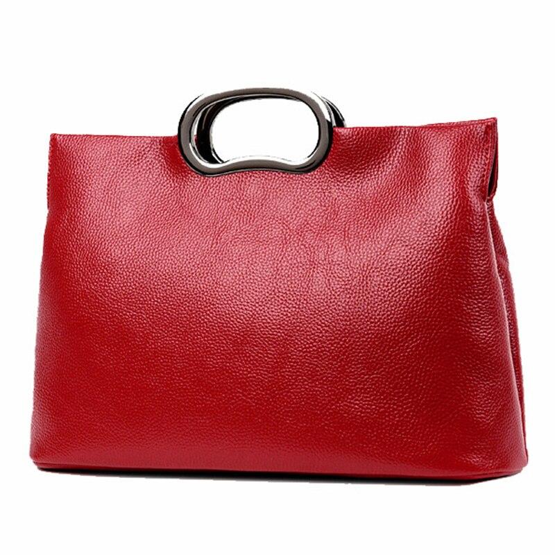 ФОТО Women Leather Handbags Women Big Tote Bag Black Bags Handbags Women Famous Brands Shoulder Bags For Women 2017 Top-Handle Bags