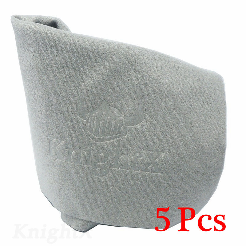 KnightX 5pcs Superfine Cloths Wipe-Camera Lens FILTER UV CPL Glasses Cleaner Screen Cleaners lot d100 d1200 d3100 d3200 d3300 200 zeiss microfiber cloth lens screen camera lenses glasses cleaner for eye glasses wipe sunglasses duster for dslr lcd monitor