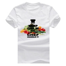 Vegetable Salad let the chef handle it New Fashion Man and Women's T-Shirt Cotton O Neck Mens Short Sleeve Mens Tshirt XS-XXXL
