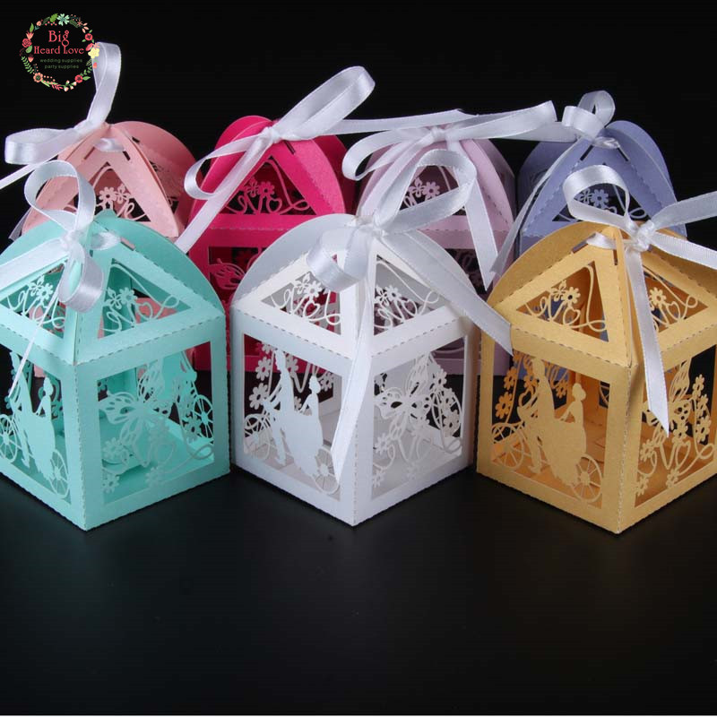 Buy Wedding Gift Box : groom party wedding candy box butterfly wedding box gift box wedding ...