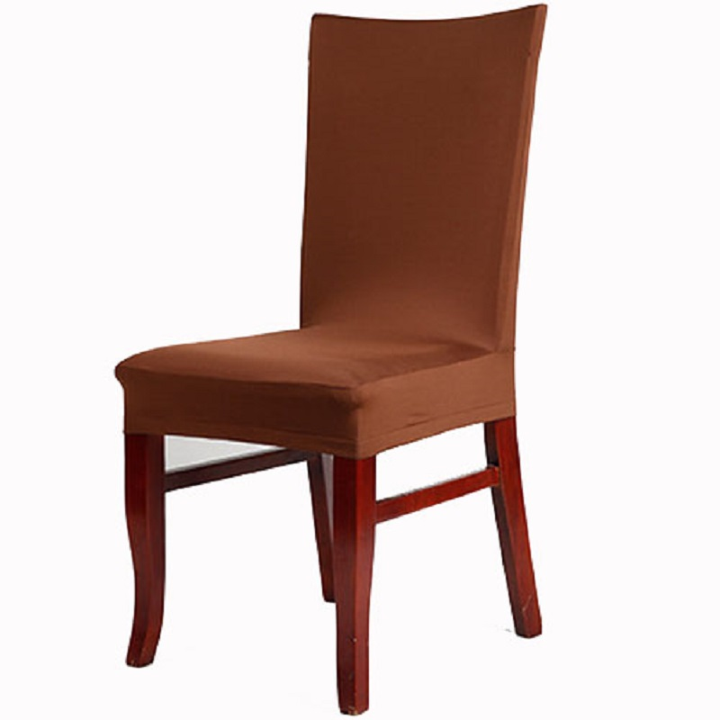 1 Piece Kitchen Bar Dining Chair Covers Seat Cover Spandex