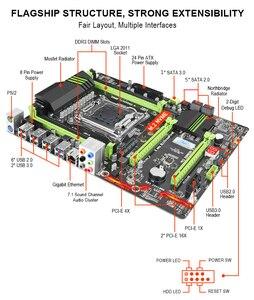 Image 5 - Płyta główna Kllisre X79 z Xeon E5 2689 2x16GB = 32GB 1600MHz pamięć DDR3 16GB ECC REG ATX USB3.0 SATA3 PCI E NVME M.2 SSD