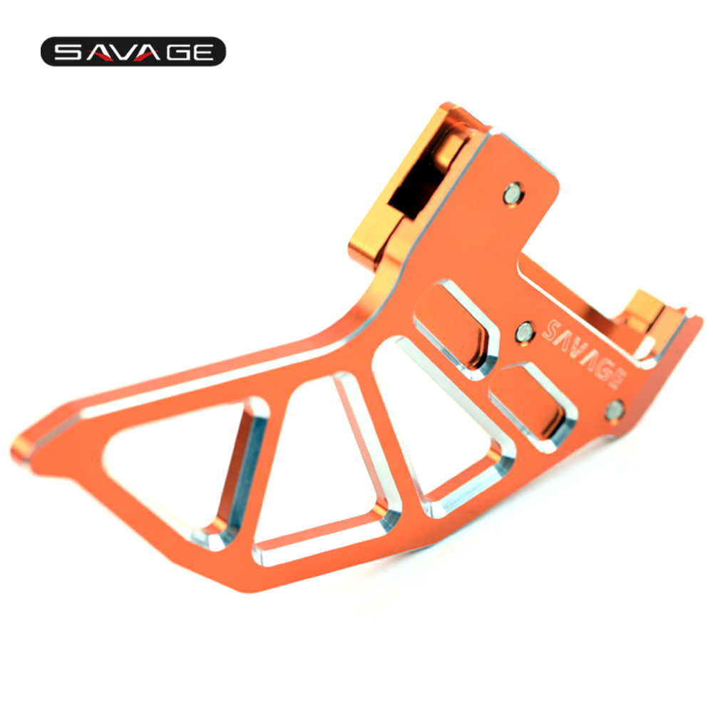 Rear Brake Disc Guard Protector Cover For KTM EXC/SIX DAYS/RACING 125 200 250 300 400 450 500 525 530 Motocycle Accessories motorcycle front rider seat leather cover for ktm 125 200 390 duke
