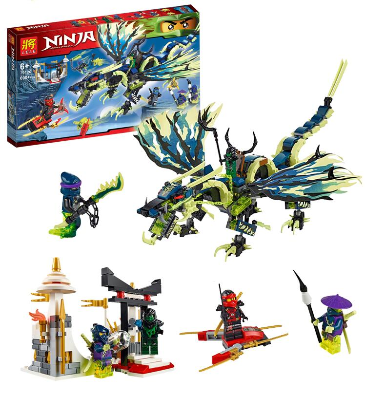 658pcs Bela 2018 New 10400 Ninja Attack of the Morro Dragon Building Kit Blocks Set Compatible With lego new bela 10530 ninjagoes toy building blocks phantom ninja chaos samurai cave 1307pcs 70596 06039 gift boy set