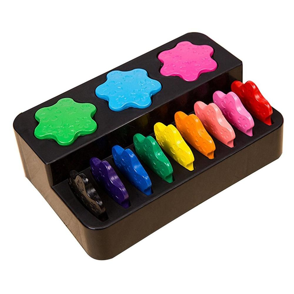 online shop snowflake shape wax innovative painting crayons