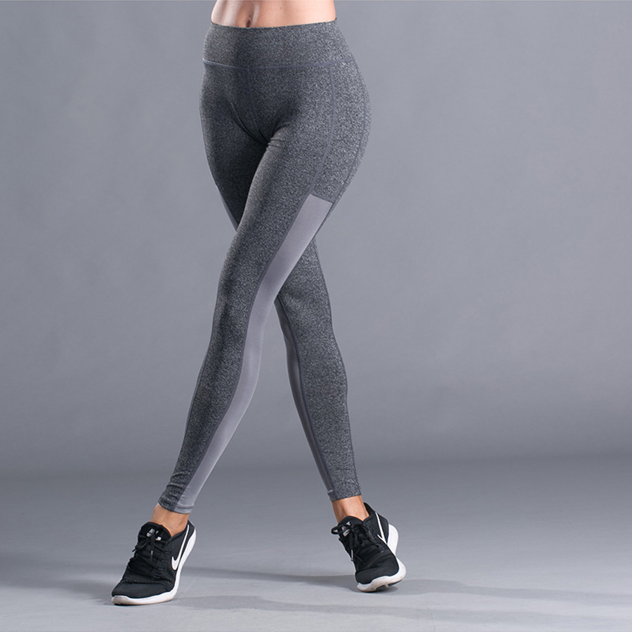 Running Leggings Sportswear Tights Sports-Compression-Pants Yoga-Pants Woman Solid Slim