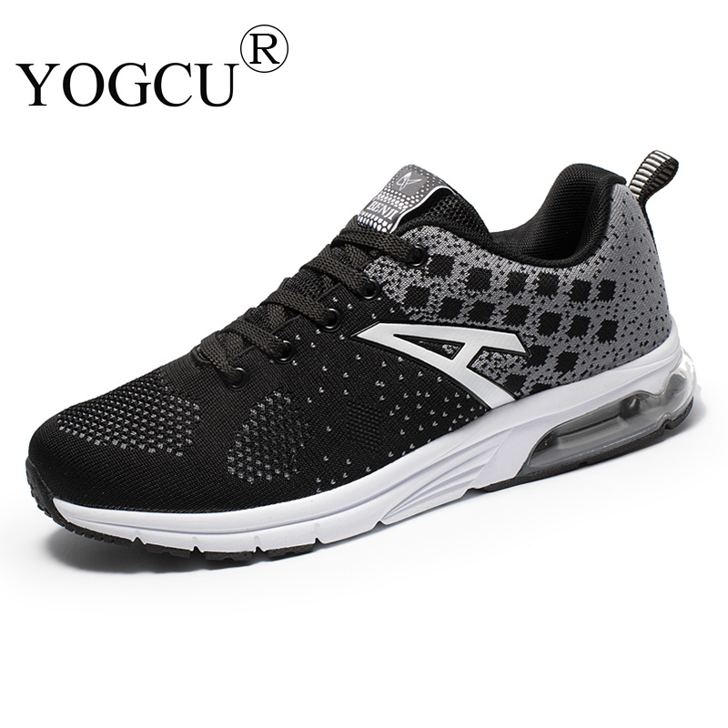 Mens sports shoes youth flying woven cushioning breathable wear-resistant cushions Superstar running shoes