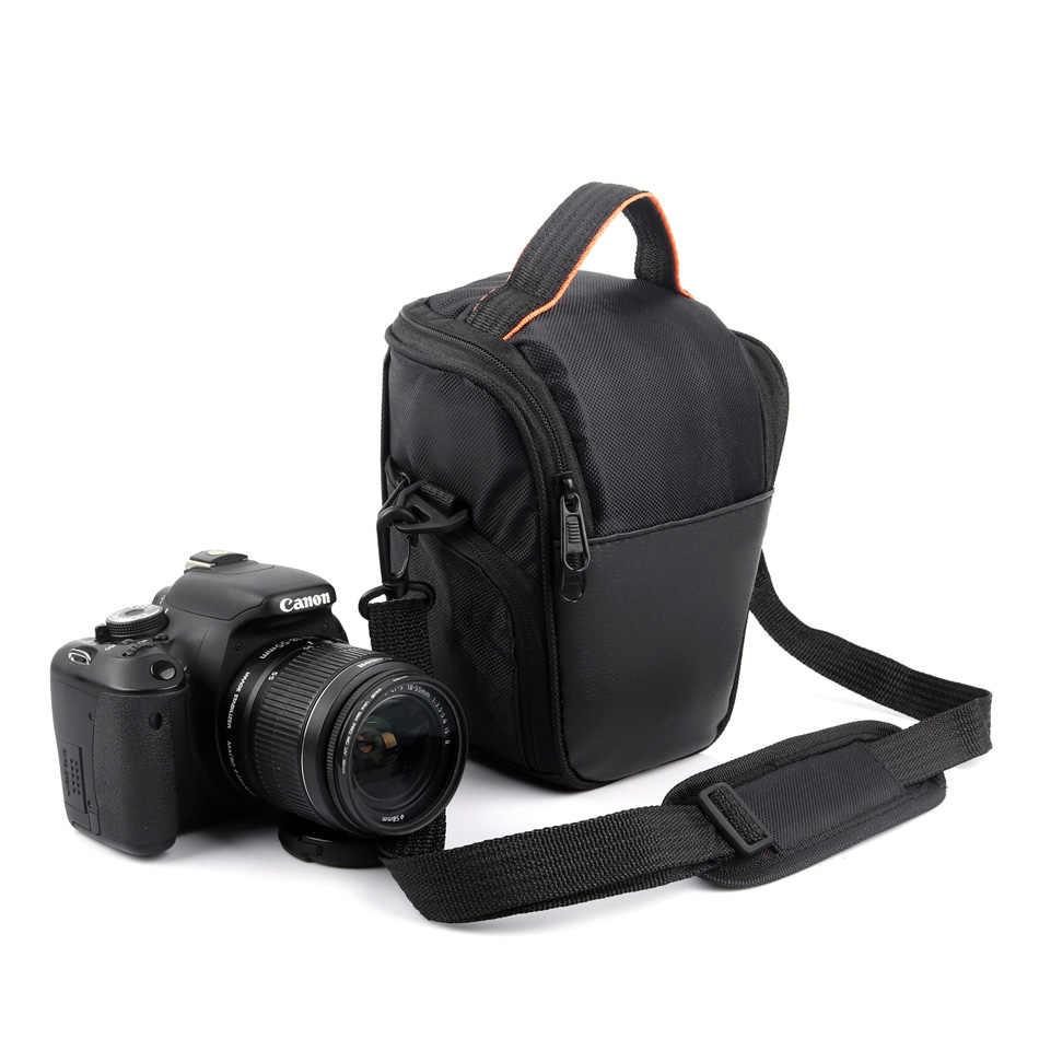 Black DSLR Camera Case Bag for Canon EOS 1300D 750D 1100D 1200D 1000D 60D