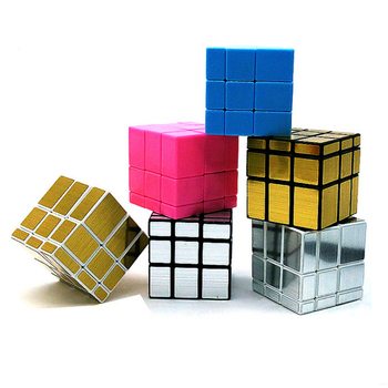 3x3x3 Magic Mirror Cube Professional Magic Cast Coated Puzzle Speed Cube Learning Education Toys For Children Magic Cube 1