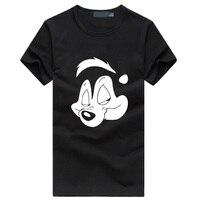2016 New Cotton Pepe Le Pew Slash Guns N Roses T Shirt Men T Shirt S