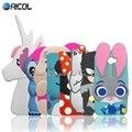 Nueva 3d minions cartoon stitch sulley silicona case para huawei honor 5a lyo-l21 5.0 ''russia versión/y6 ii compacto cubierta de conejo