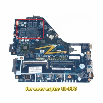 NOKOTION NBMEQ11002 NB.MEQ11.002 For acer aspire E1-530 Laptop motherboard Z5WE1 LA-9535P 2117U CPU SR0VQ DDR3