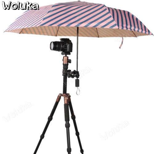 مظلة ثابتة كليب كاميرا تعادل ترايبود مقاوم للماء ثوب المطر يوم ممطر حماية CD50 T08